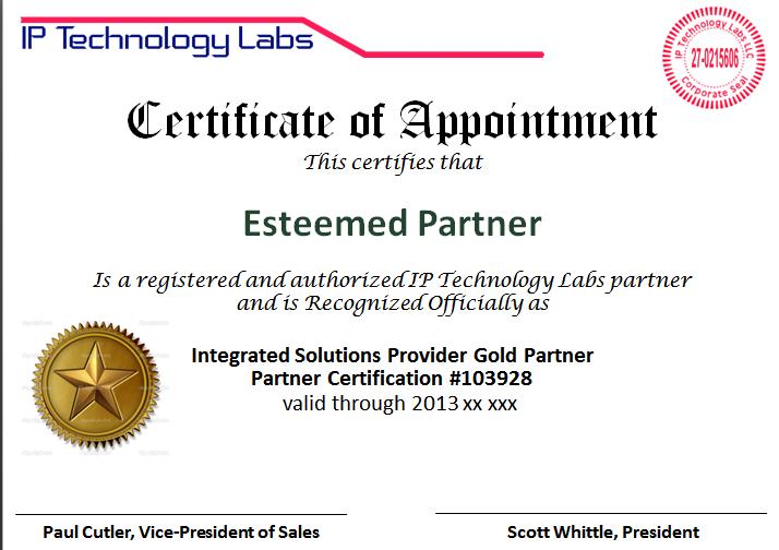 Iptl Ice T Certified Engineer Technical Certification Course Ip